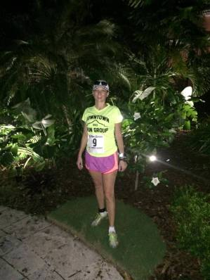 2013-during a full marathon in the US Virgin Islands