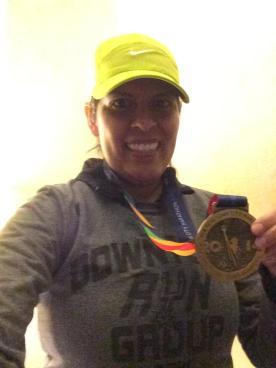 Azalea Ortiz 4:20:33 2015 Marine Corp Marathon