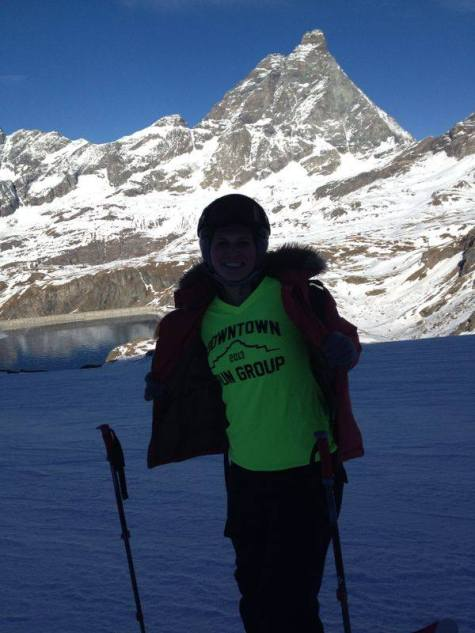 2013-Mount Cervino, Italy with the Matterhorn in the background