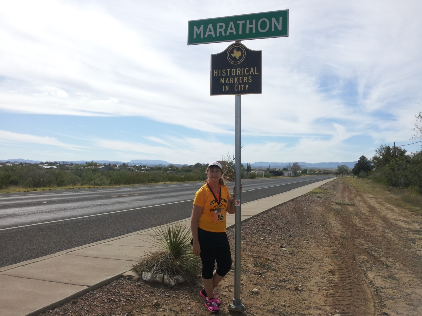 2012-in Marathon, TX - unfortunately not Marathon, Greece