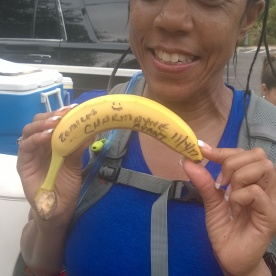 20171104-Charmayne - you have your BIG DEAL BANANA in the frowning position rather than the smiling position Running a 20 miler is a happy moment to be celebrated Great work